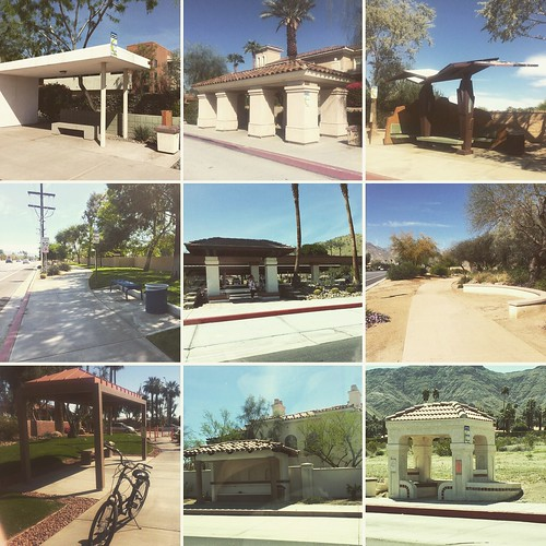 Bus shelters for everyone, Palm Springs, by Stewart Burgess