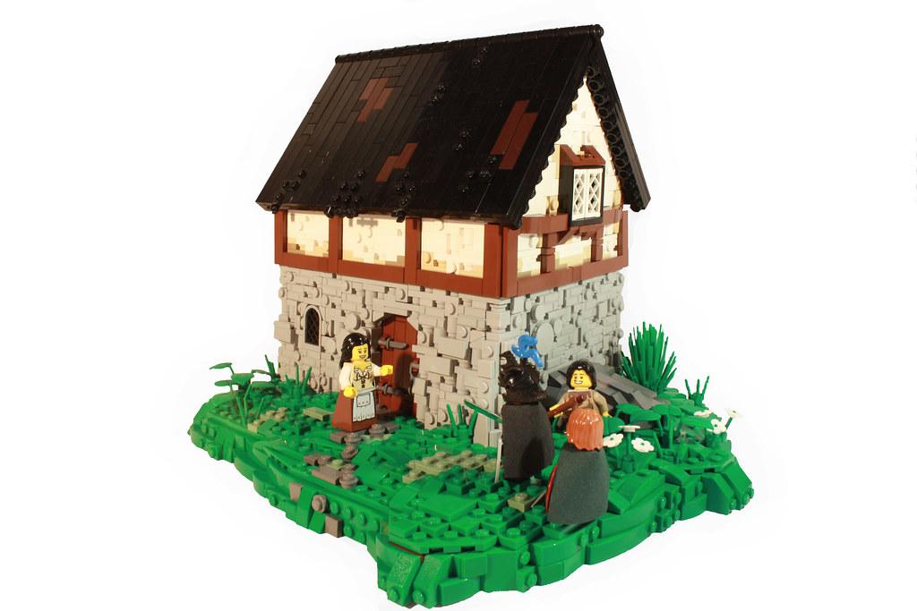 LOM: Journey's End (custom built Lego model)