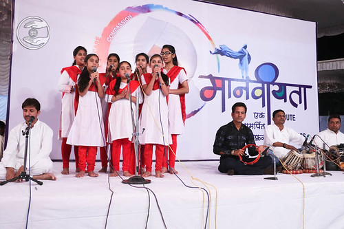 Welcome song by Bal Sangat Amravati