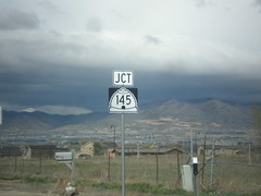 UT-68 North approaching UT-145
