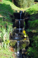 Trough waterfall
