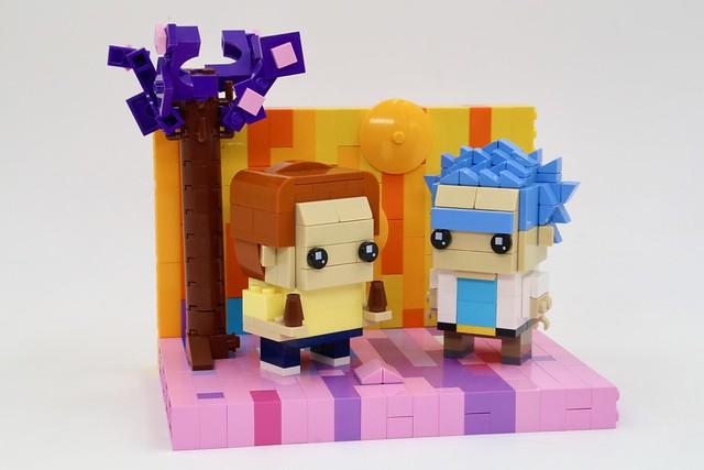 Rick and Morty Lego Brickheadz