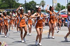 James Madison cheerleaders