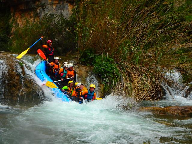 Rafting Montanejos 30/4/17 Turno mañana
