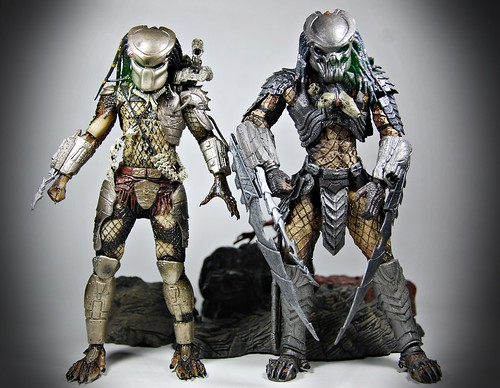 NECA Predator vs McFarlane Predator