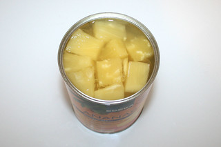 03 - Zutat Ananas / Ingredient pineapple