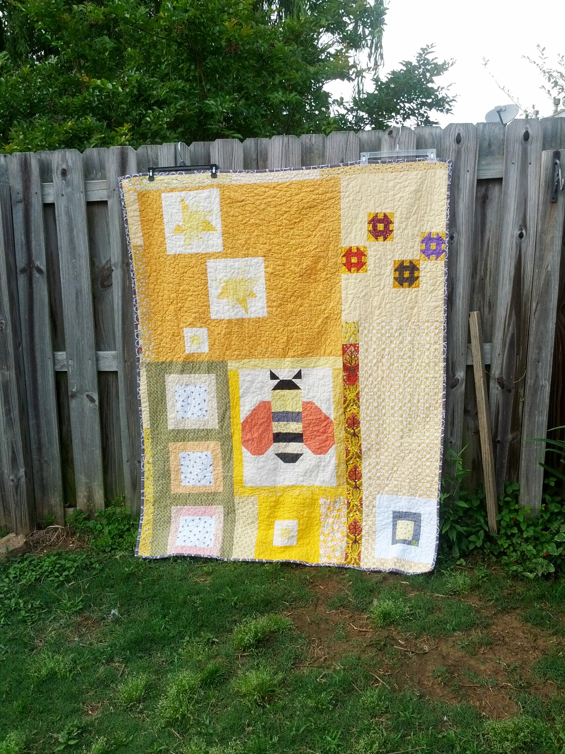 Back of Melifera Quilt