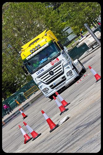 Primera concentración camiones