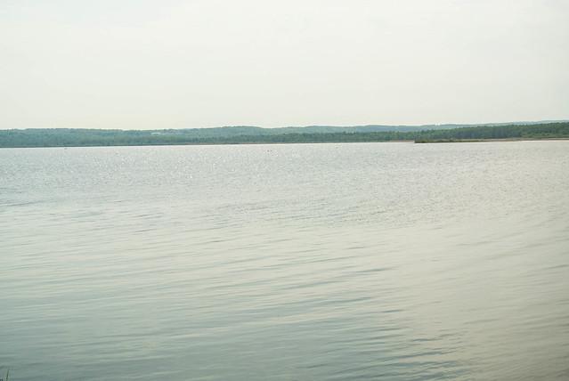 Glitter på Finjasjön