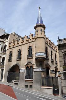 Barcelona, casa Comas d'Argemir, de Josep Vilaseca