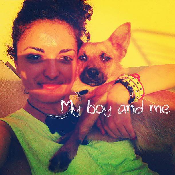 my boy and me