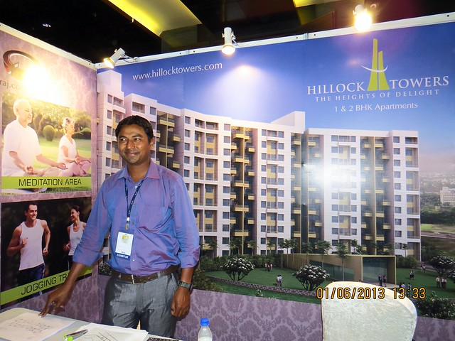 www.hillocktowers.com  -  Visit Times Property Showcase 2013, 1st &2nd June 2013, JW Marriott, S B Road, Pune