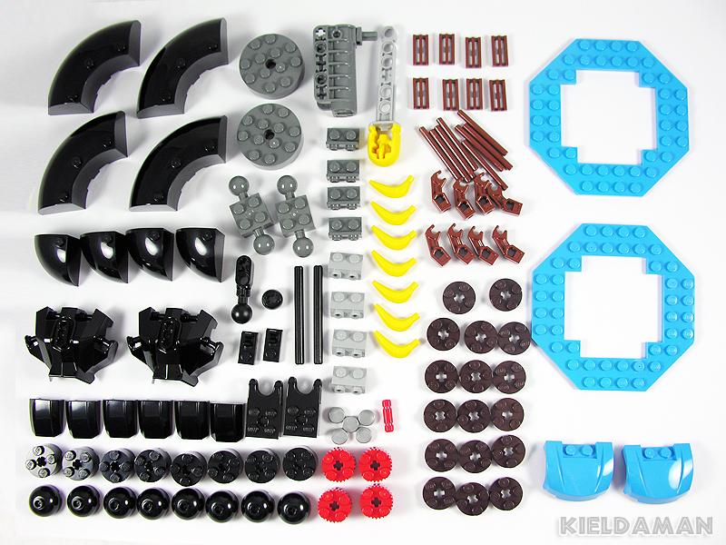 Review 70008 Gorzan S Gorilla Striker Lego Action And