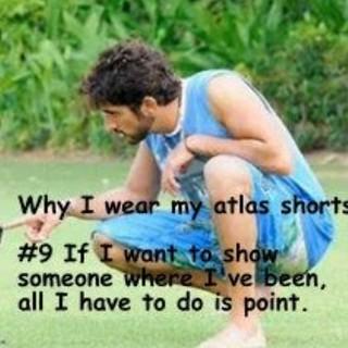 Top 10 reasons Fazza wears his Atlas shorts  #9 If I want