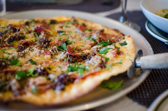 The Sausage Factory Pizza at FarmBloomington.
