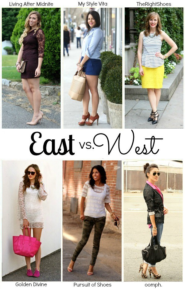 Living After Midnite: East vs West Coast Style: Lace