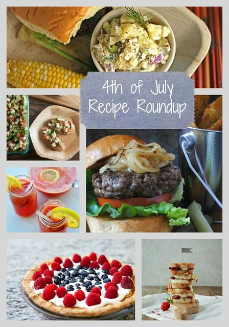 These 4th of July recipes are sure to get your creative ideas going. We have everything from appetizers to drinks to awesome 4th of july desserts!