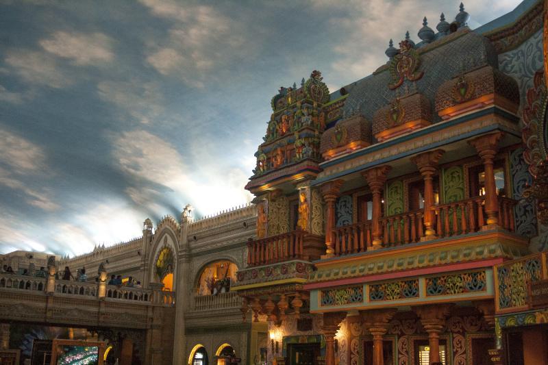 Beautiful Decor, ambiance at Cultural Gully, Kingdom of Dreams