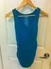 Old Navy Maternity, 58/38/4 cotton/poly/spandex, teal, size M -- $5