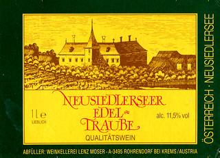 Austria - Neusiedlerseer Edeltraube