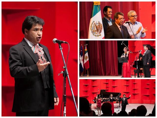 """Embajada de México en República Dominicana organiza concierto """"Serenata Mexicana"""" con el tenor Omar Garrido."""