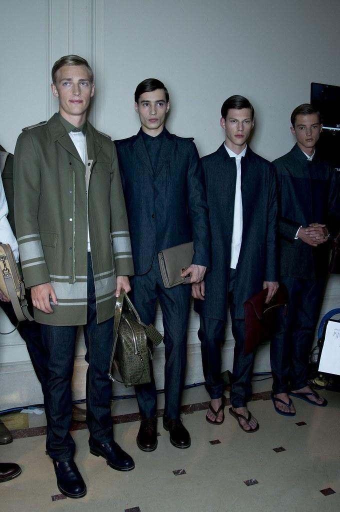 SS14 Paris Valentino111_Victor Nylander, Adrien Sahores, Nemanja Maksic, Abel van Oeveren(fashionising.com)