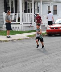 Jayson Kessel, 6, motors home