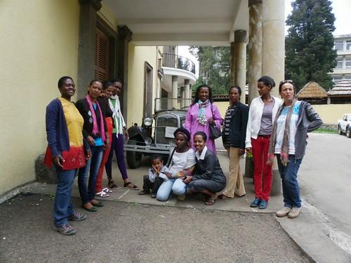 Mestres a Addis Abeba
