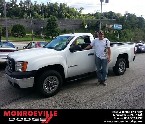 Thank you to Russell Beck on the GMC Sierra from Scott Butler and everyone at Monroeville Dodge! by Monroeville Dodge