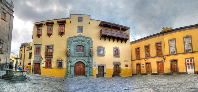 La Casa de Colón en Vegueta Las Palmas de Gran Canaria.