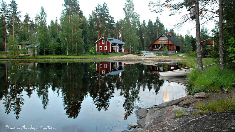 muori,cabins,lake