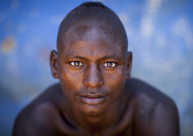 Hamer Tribe Man, Turmi, Omo Valley, Ethiopia