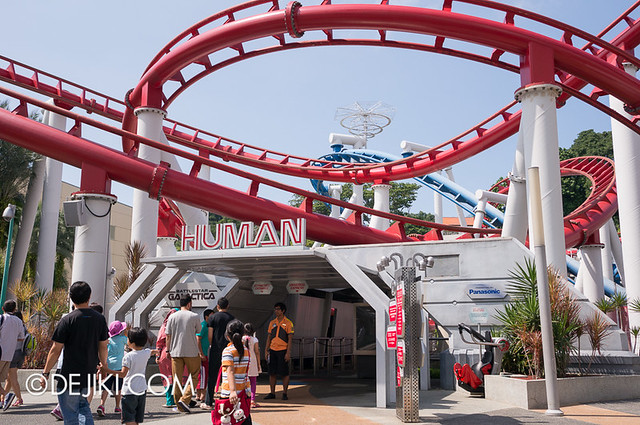 Universal Studios Singapore - Battlestar Galactica Closed