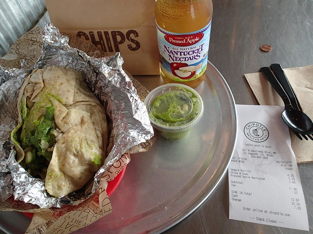 Chipotle mexican food - Los Angeles