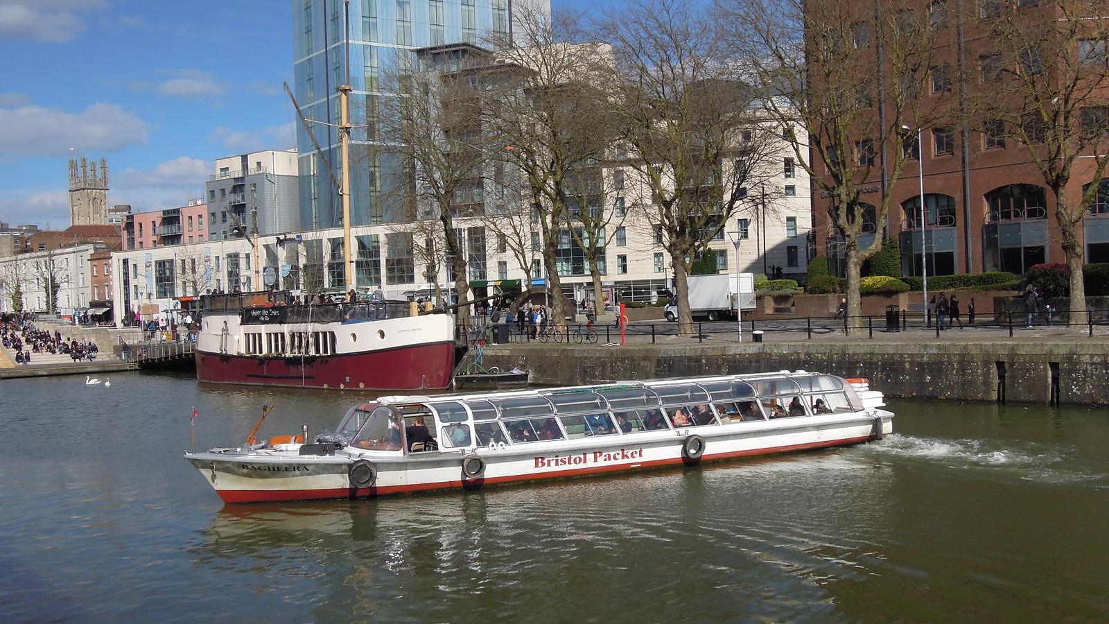 Bagheera, Bristol Packet Boat Trips, Bristol Harbour, Engl