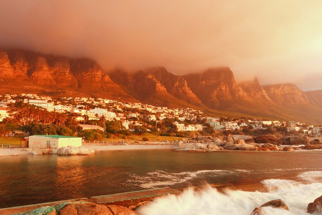 Twelve apostles in sundown