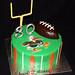 UM football cake