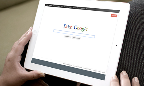 Fake Google Usability Test