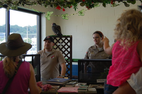 Bird as part of the Scales and Tales program at the State Fair