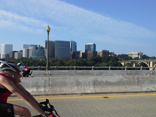Rosslyn skyline, Key Bridge