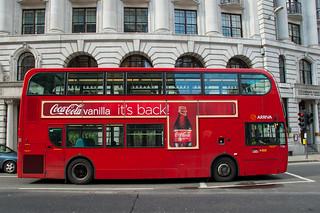 Bus à impériale londonien
