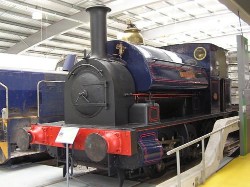 Avonside 0-6-0T 1572 'Woolmer' (1910) Locomotion Shildon 29.06.2009 P6290045