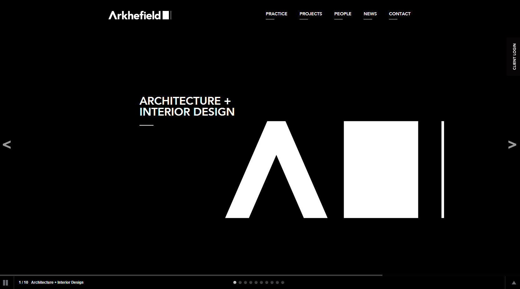 Arkhefield - Clean Architecture Website For Your Inspiration