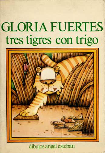 Cubierta de Tres tigres con trigo