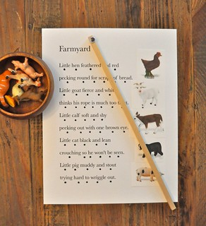 Farmyard Poem Basket
