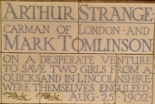 Arthur Strange & Mark Tomlinson