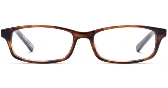 Warby Parker glasses prescription online order Nedwin amber frames brown warbyparker.com