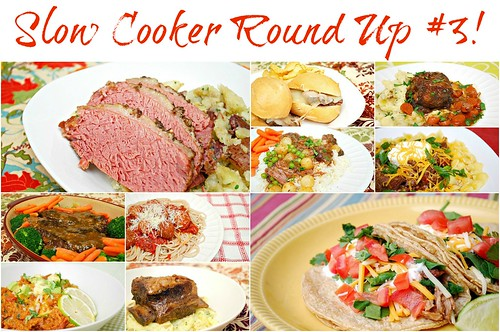 Slow Cooker Round Up #3 & Book Review