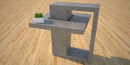 Small end tables designed and created by Designs by Rudy