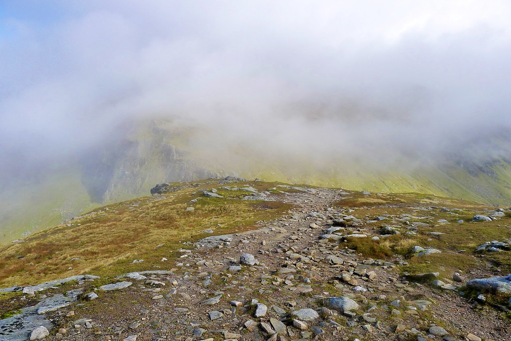 Descent from Beinn Dorain
